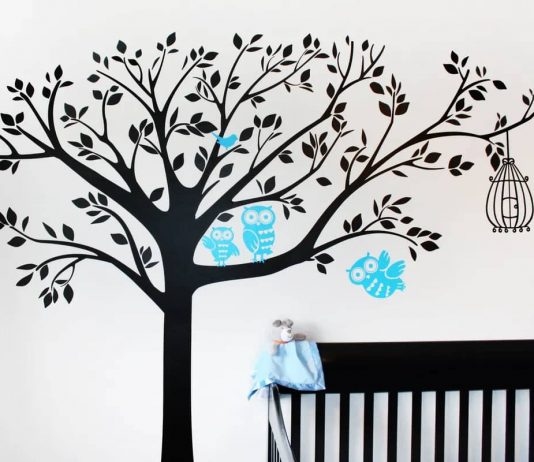 how to decorate wall stickers