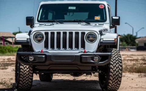 Fender Flares on a Jeep